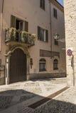 Die Kirche von Acquie Terme, Italien Lizenzfreies Stockfoto