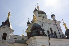 Die Kirche von Christus-` s Auferstehung im Foros, Krim stockbilder
