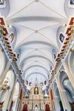 Die Kirche von EL Cobre in Santiago de Cuba stockbilder