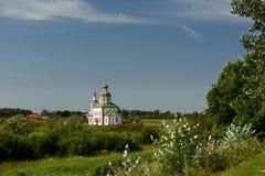 Die Kirche von Elija der Prophet Suzdal, goldener Ring, Russland Lizenzfreie Stockfotografie