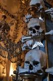 Die Kirche von Knochen, Kostnice Stockfotografie