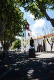 Die Kirche von Machico auf der Insel von Madeira Portugal Lizenzfreie Stockbilder