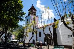 Die Kirche von Machico auf der Insel von Madeira Portugal Lizenzfreie Stockfotografie