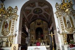 Die Kirche von Machico auf der Insel von Madeira Portugal Stockfotos