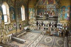 Die Kirche von Oncesti lizenzfreie stockfotografie