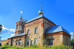 Die Kirche von Paraskeva in Torzhok-Stadt, Russland Lizenzfreie Stockfotografie
