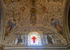 Die Kirche von Santo Domingo de Guzman in Oaxaca Mexiko Lizenzfreie Stockfotos