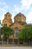 Die Kirche von St. Elija in Yevpatoria krim Stockbild