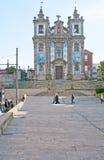 Die Kirche von St. Ildefonso Lizenzfreie Stockfotografie