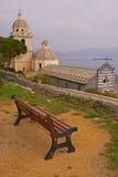 Die Kirche von St Peter in Porto Venere Lizenzfreie Stockfotos