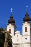 Die Kirche von Tihany (Ungarn) Stockbilder