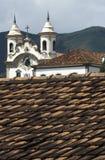 Die Kirchen von São Francisco und von Nossa Senhora tun Carmo im März Lizenzfreie Stockfotos