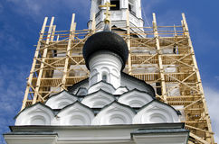 Die Kirchenhauben Stockfotos