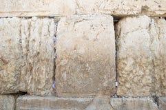 Die Klagemauer, die Klagemauer oder das Kotel ist in der alten Stadt von Jerusalem am Fuß der Westseite des Tempelbergs Stockfoto