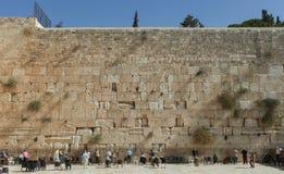 Die Klagemauer, Jerusalem - Israel Lizenzfreie Stockbilder