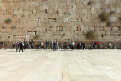 Die Klagemauer, Jerusalem - Israel Lizenzfreies Stockbild