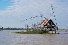 Die kleine Hütte des Fischers Stockfoto
