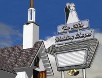 Die kleine Hochzeits-Kapelle Lizenzfreie Stockbilder