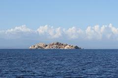 Die kleine Insel Stockfotos