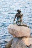 Die kleine Meerjungfrau, Kopenhagen Stockfoto