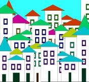 Die kleine Stadt Stockfoto