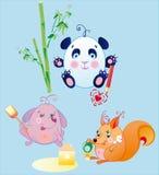 Die kleinen Tiere ist Spaßschätzchen Lizenzfreies Stockbild