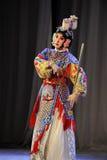 Die Klinge Tanzpeking-Oper: Abschied zu meiner Konkubine Lizenzfreie Stockfotos