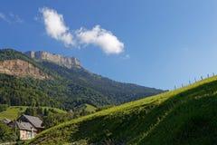 Die Klippen von Chamechaude-Gipfel Lizenzfreies Stockfoto