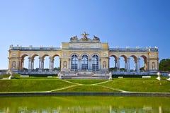 Die Kolonnade Gloriette Wien, Österreich lizenzfreie stockfotografie