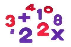 Die konfusen Zahlen Stockbild