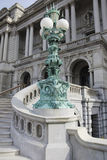 Die Kongressbibliothek in Washington, Gleichstrom. Lizenzfreies Stockfoto