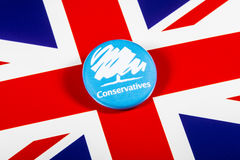 Die konservative Partei Stockfotografie