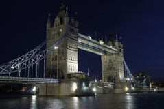 Die Kontrollturm-Brücke London Stockfotografie