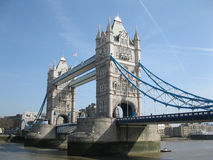 Die Kontrollturmbrücke in London Stockbilder