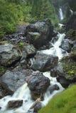 Die Kraft des Wasserfalls Lizenzfreies Stockbild
