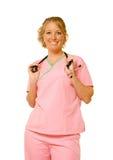 Die Krankenschwester lizenzfreies stockbild