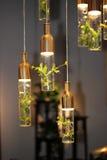 Die kreative Lampe Stockbild