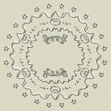 Die Kreiszeichnung Stockbild