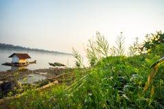 Die Kreuzfahrt auf dem Mekong stockfoto