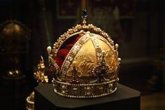 Die Krone des Österreichisch-ungarischen Reiches stockfotografie