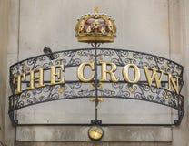 Die Krone in Oxford Lizenzfreies Stockfoto