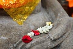Die Kronenblumengirlande Stockbild