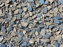 Die Krume von Keramikfliesen lizenzfreie stockfotografie