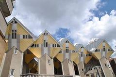 Die Kubikhäuser von Rotterdam 4 Stockbild