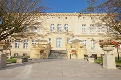 Die Kujawy-Pommernprovinz, Ostromecko-Palast. Lizenzfreies Stockbild