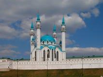 Die Kul Sharif Moschee der Kazan-Stadt in Russland Stockfotografie