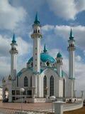 Die Kul Sharif Moschee der Kazan-Stadt in Russland pic1 Stockfotografie