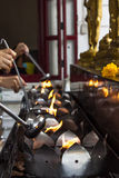 Die Kultur von Buddhismus Lizenzfreies Stockbild