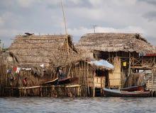Die Kuna Yala comunities Lizenzfreies Stockfoto