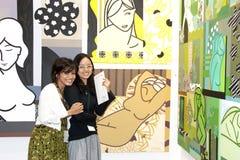 Die Kunst-Ausstellung Malaysia 2010 Lizenzfreies Stockfoto